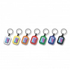Colour Brite Key Ring - Rectangle