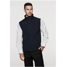 MENS OLYMPUS SOFT SHELL VEST - XL