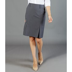 ELLIOT - WOMENS WASHABLE BOX PLEAT SKIRT