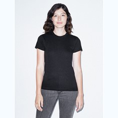 2102W American Apparel – Fine Jersey Fitted T-Shirt