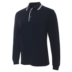 JB's Long Sleeved Contrast Polo