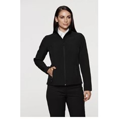 LADIES SELWYN SOFT-SHELL JACKET - XL