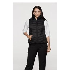 LADIES SNOWY PUFFER VEST