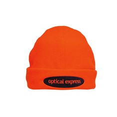 Luminescent Safety Beanie Micro Fleece Headwear