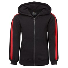 Podium Dual Stripe Adults Full Zip Hoodie