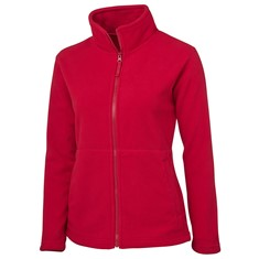 LADIES 2 IN 1 FULL ZIP MICRO FLEECE JACKET