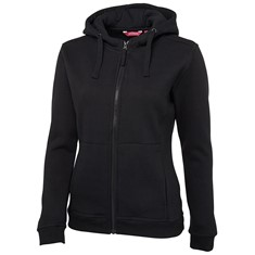 JB's LADIES' FULL ZIP FLEECE HOODIE