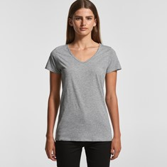 AS Colour Womens Bevel V-Neck Tee