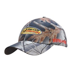 Leaf Print Camouflage Cotton Twill Cap