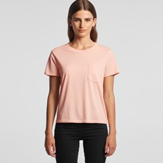 AS Colour Women's Square Pocket Tee