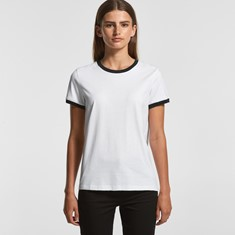 AS Colour Women's Ringer Tee