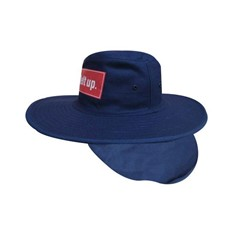 Canvas Wide Brimmed Sun Hat