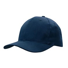 Brushed Cotton Cap with Snapback