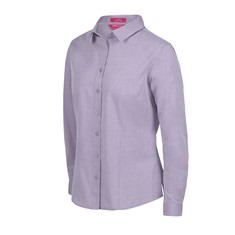 Ladies Classic L/S Fine Chambray Shirt