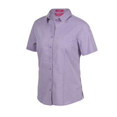 JB's Ladies' Classic Short Sleeve Fine Chambray Shirt