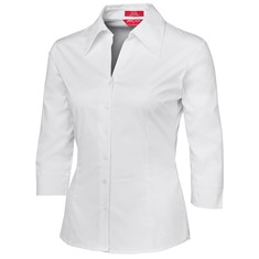 JB's LADIES' 3/4 SLEEVE FITTED SHIRT
