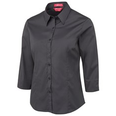 JB's Ladies' Urban 3/4 Sleeve Poplin Shirt