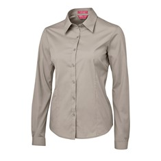 Ladies Long Sleeved Poplin Shirt
