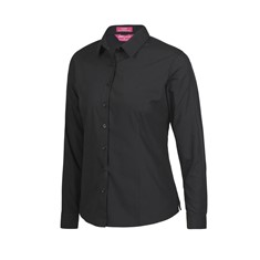 JB's Ladies' Classic Long Sleeve Poplin Shirt