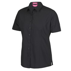 JB's Ladies' Classic Short Sleeve Poplin Shirt