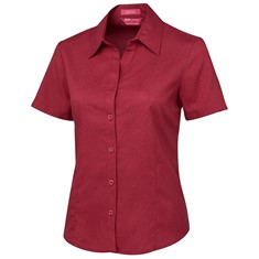 Ladies Short Sleeved Polyester Shirt