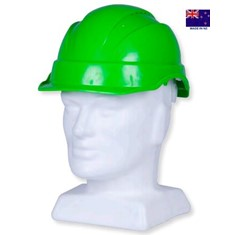 VENTED HARD HAT / SHORT PEAK