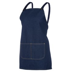 JB's CROSS BACK 65X71 BIB DENIM APRON (WITHOUT STRAP)