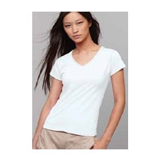 Soft Style Ladies V-Neck Tee