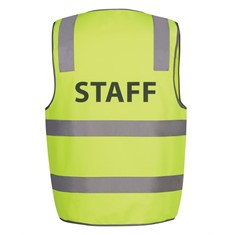 JB's HI VIS DAY/NIGHT SAFETY VEST - STAFF