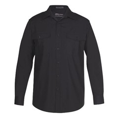 Mens Epaluette Shirt Long Sleeved