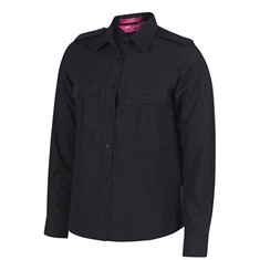 Ladies Epaulette Shirt Long Sleeved