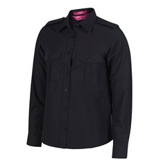 LADIES EPAULETTE SHIRT L/S