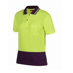 JB'S LADIES HV SHORT SLEEVED JACQUARD POLO