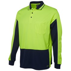 Hi Vis Long sleeved Gap Polo