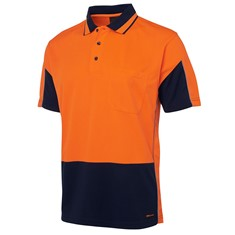 Hi Vis Short Sleeved Gap Polo