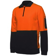 Hi Vis 330G 1/2 Zip Fleece