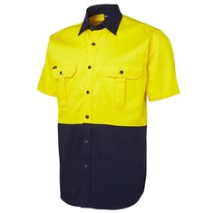 Hi Vis Short Sleeved 190G Shirt