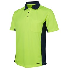 Hi Vis Short Sleeved Sport Polo