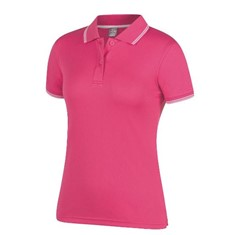 JB's LADIES JACQUARD CONTRAST POLO