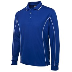 JB's Unisex Long Sleeved Piping Polo