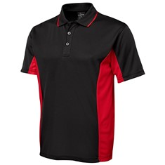 JB's PODIUM MENS CONTRAST POLY POLO
