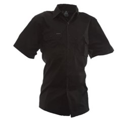 Industrial Cotton Shirt Short Sleeved