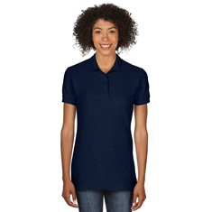 Semi-fitted Ladies' Double Piqué Sport Shirt