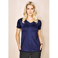 Advatex Ladies Mae Short Sleeve Knit Top