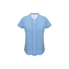 Advatex Ladies Ella Diamond Pleat Knit Top