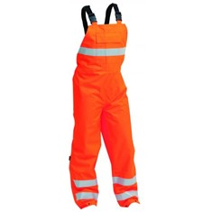 HI-VIS FR AND ANTISTATIC BIB OVERALL