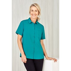 Womens Easy Stretch Short Sleeve Shirt
