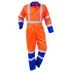Argyle TTMC-W Vislon Zip Poly Cotton Overalls
