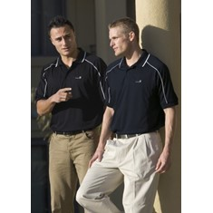 Dri Gear Mens Eyelet Polo