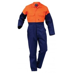 FLAMEGUARD 12CAL COTTON FR, HI-VIS DAY ONLY OVERALL